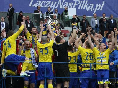 Finał Pucharu Polski: Lech Poznań - Arka Gdynia